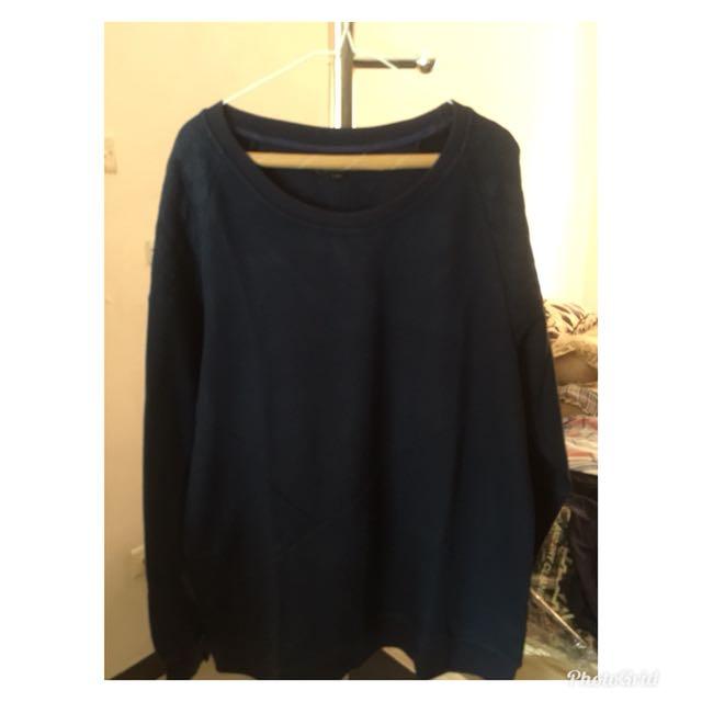 PORTOFINO MALAYSIA women sweatshirt pullover pakaian wanita atasan baju panas