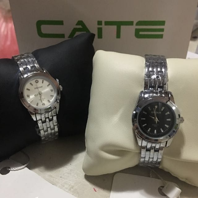 Promo!!!! 2 Caite Series Stainless Steel Watch