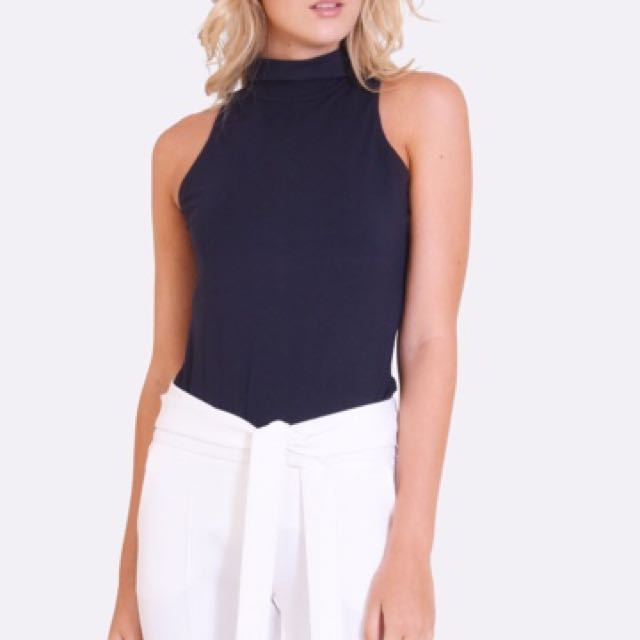 Rolled neck top NEW