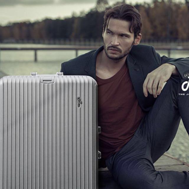 ❤️Rowana 鋁框款 29吋 行李箱 美式掛扣鋁框👍 非拉鍊!超安全!(經典色 質感銀色)