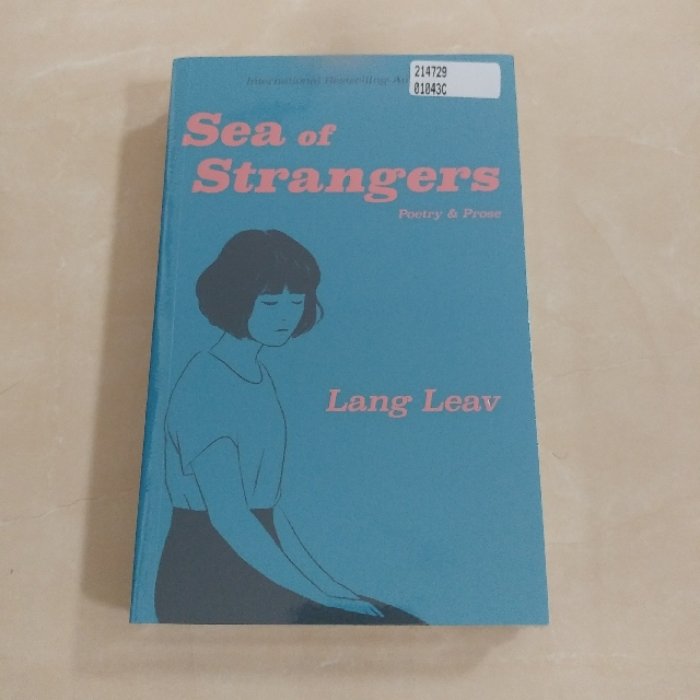 Sea of Strangers by Lang Leav (English) Promo Buku Import Murah