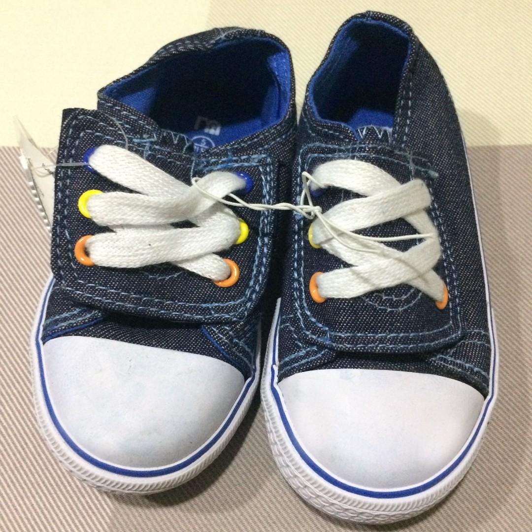 Sepatu Prewalker Bayi Mothercare Denim Colorful