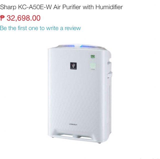 Sharp humidifier