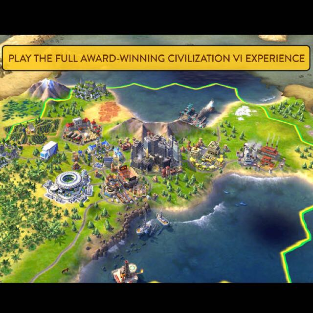 Sid Meier's Civilization VI (Steam PC digital download key, free DLCs)