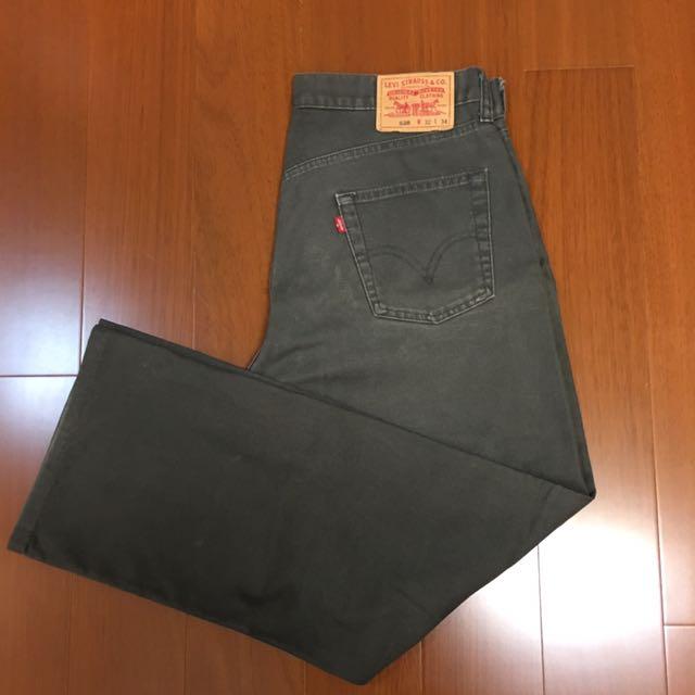 (size 32/34) Levi's 520 復古牛仔褲