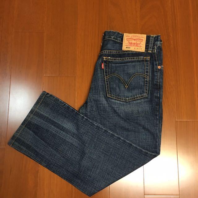 (Size 34/32) Levi's M505小直筒牛仔褲