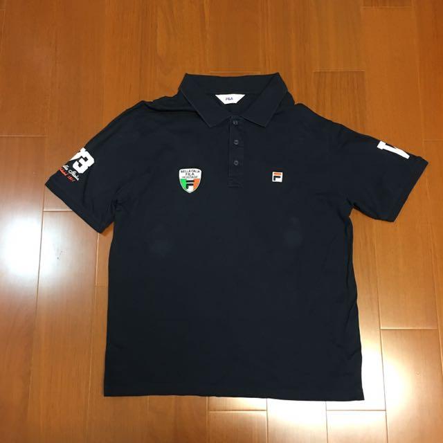 (Size xL) Fila 百搭短袖polo衫