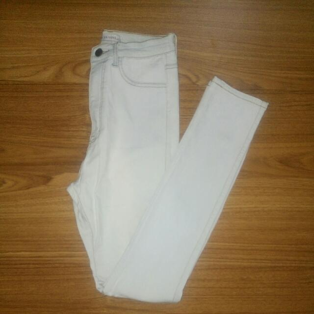 Slim-Fit Washed Up Jeans (stretch)