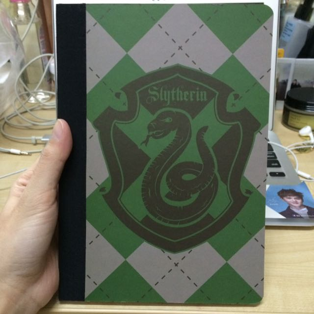 Slytherin notebook from Primark UK