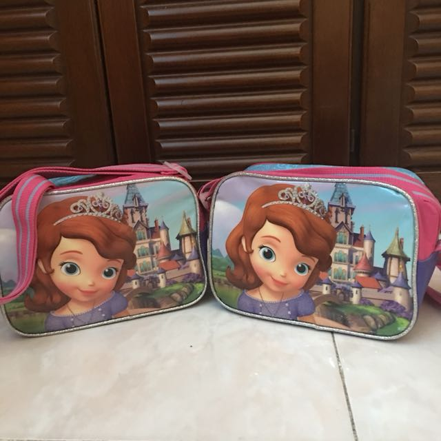 Sophia the First Bag/lunchbox
