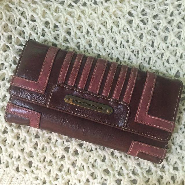 Sophie Signature Wallet
