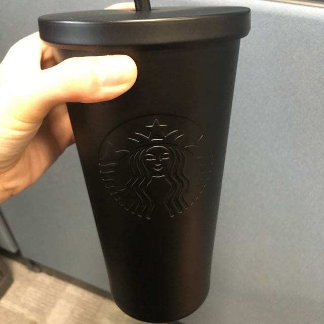 699dc483c28 Starbucks Matte Black Cold Cup