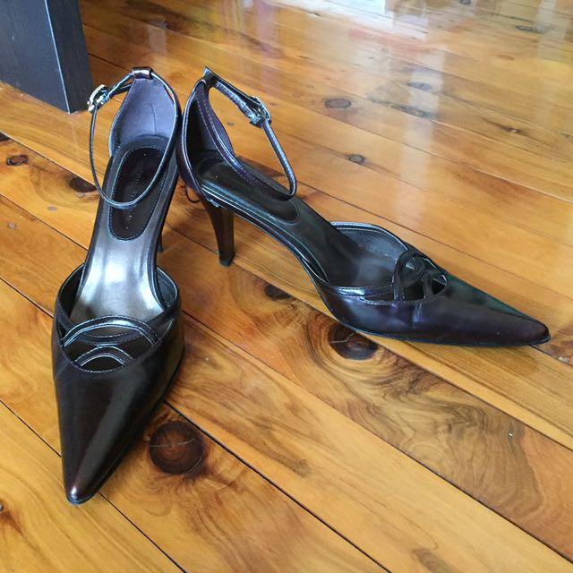 Strap in heels