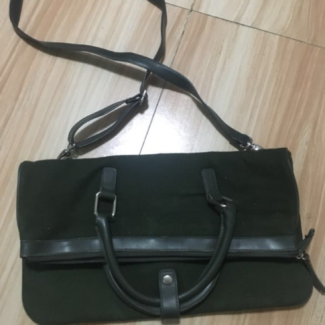 Stylish moose green bag bought in Canada