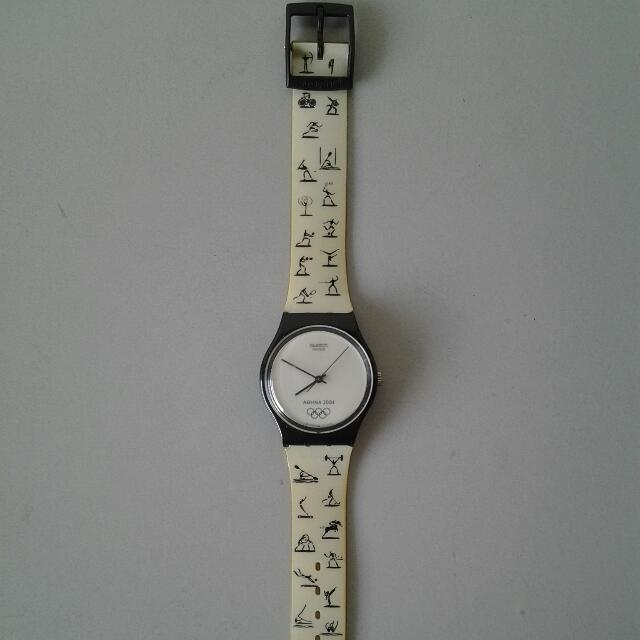 "Swatch watch ""2004 Olympics"" (pre-loved)"