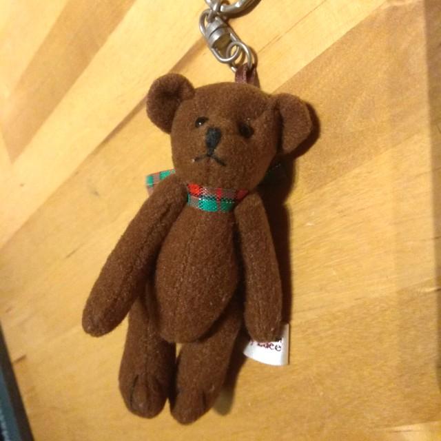 Teddy bear key chain Lovely Lace