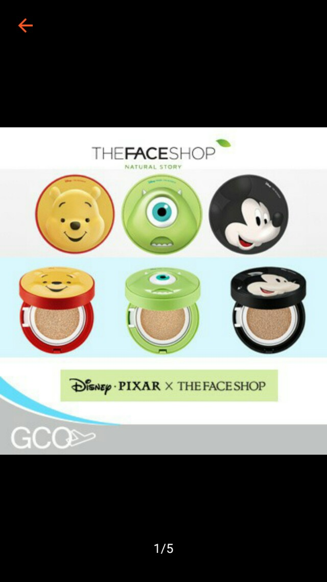 THE FACE SHOP CUSHION DISNEY ORI 100%