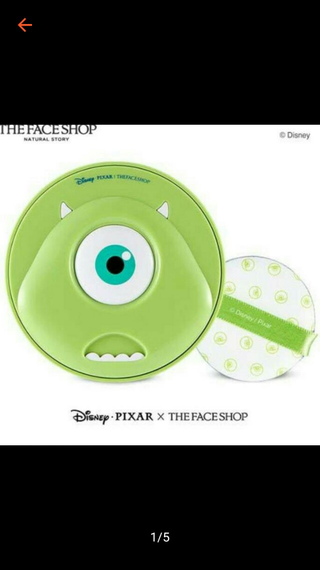 THE FACE SHOP DISNEY CUSHION ORI 100%
