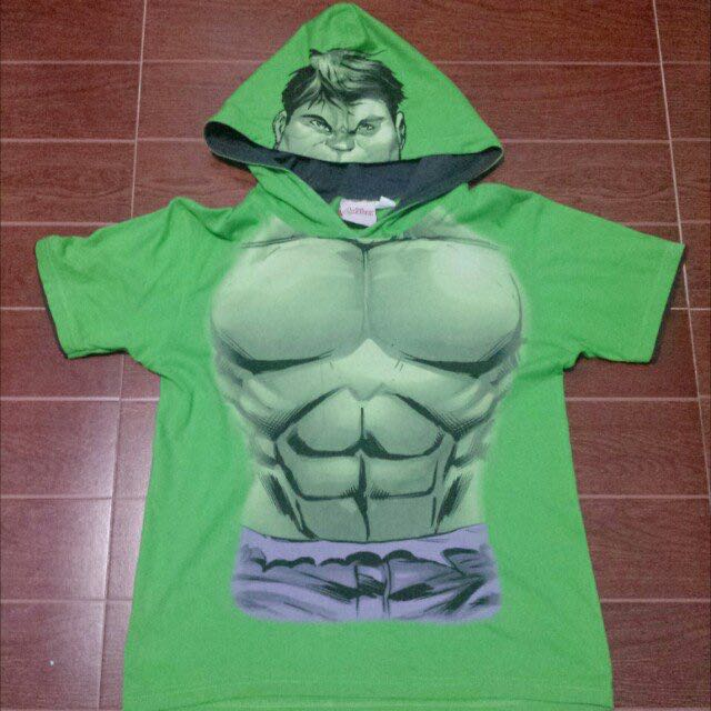 The Hulk Shirt with Hood