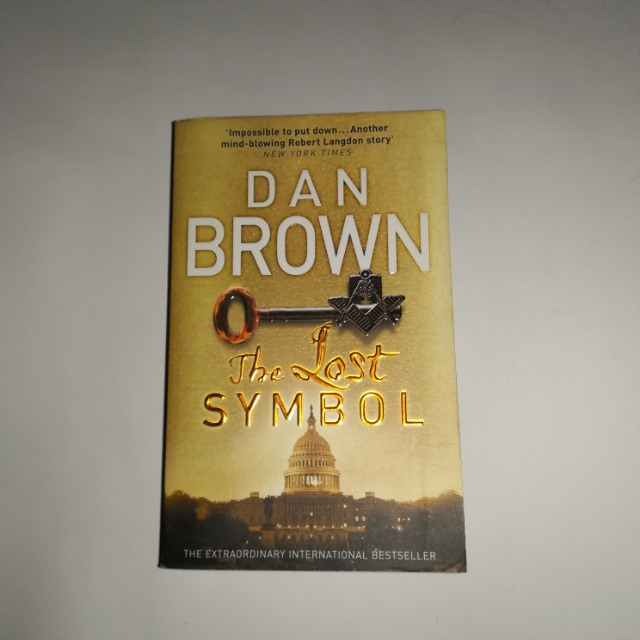 The Lost Symbol By Dan Brown Books Stationery Books On Carousell