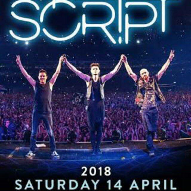 The Script Upper Box Ticket
