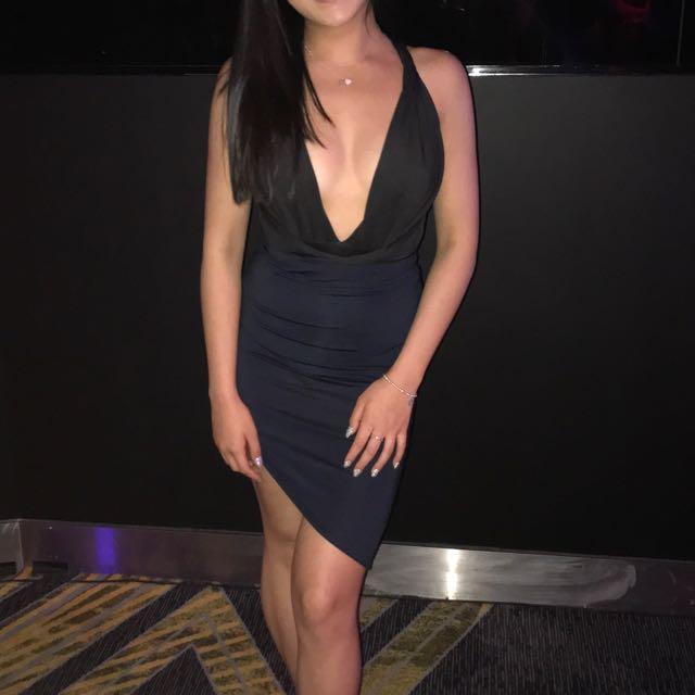 Theia body suit - black