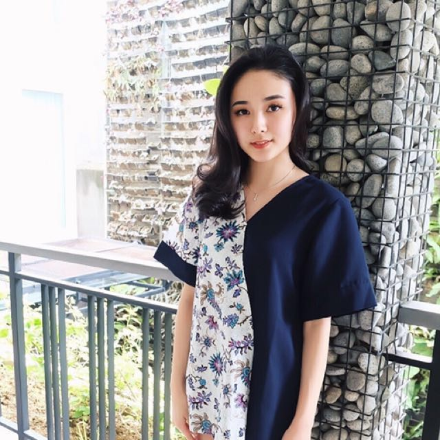 Two-Way Batik Top