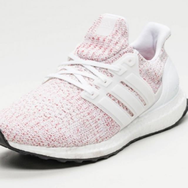 7b0152d37 Ultra Boost 4.0 Candy Cane   Scarlet