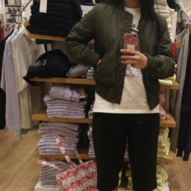 Uniqlo jacket bomber