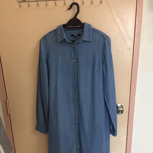 Uniqlo Jeans Shirt