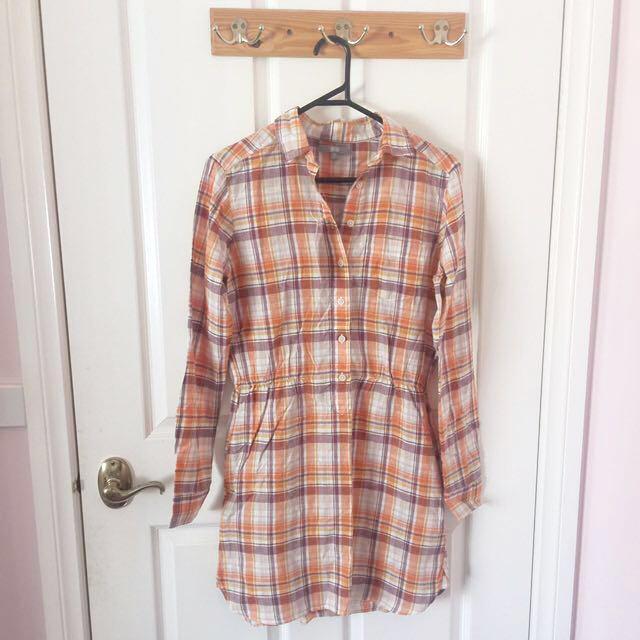 Uniqlo Shirt Dress BNWT
