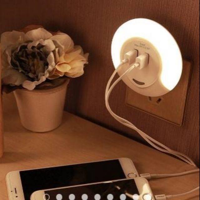 三階段USB感應小夜燈