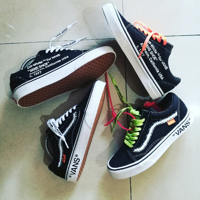 26e2c2dfce Vans Old Skool x Off-White (Custom)