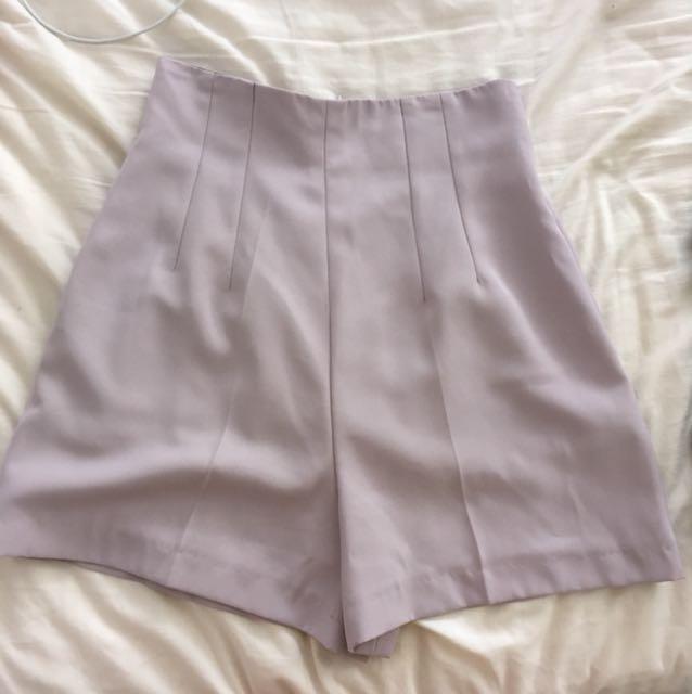 Vintage Lilac Shorts