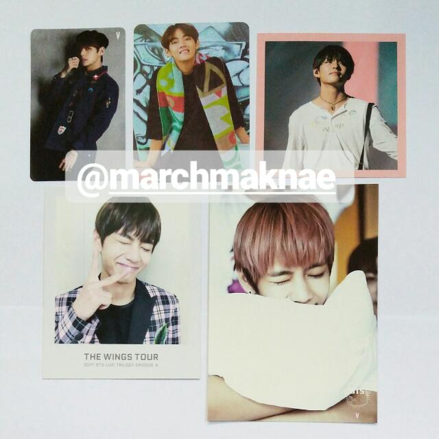 V/Taehyung (BTS) Official Collection