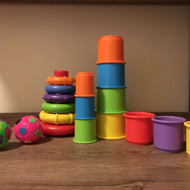 Well Loved: Stackable Cups and Rings