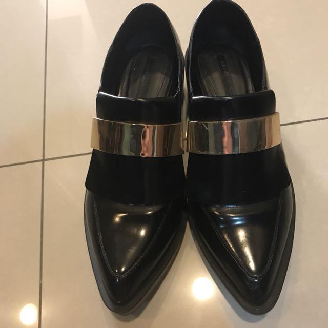 Zara尖頭紳士鞋38