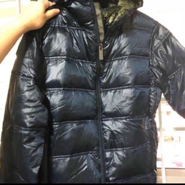 d6358c657 Zara Man Dual Colour Winter Jacket (80% Down), Men's Fashion ...