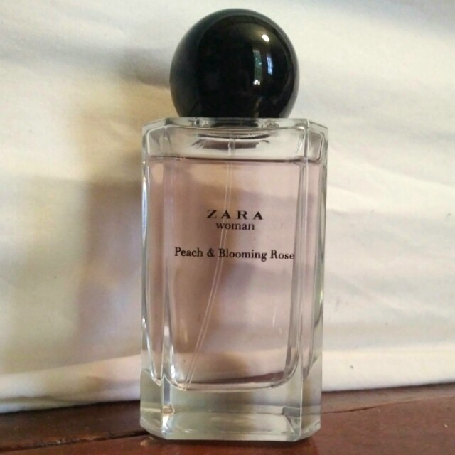 Zara Peach and Blooming Rose EDT