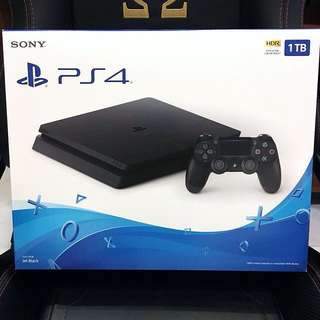PS4 Slim 1TB (BNIB)