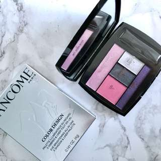 Lancôme Color Design Palette 🌷Pink Envy