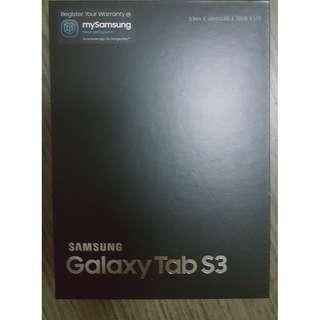 Samsung Galaxy Tab S3 (new 22 Jan 2018) direct from singtel