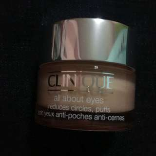 Clinique All About Eyes Gel Cream