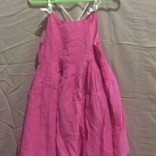 Dress pink zara