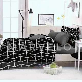 Hot!! Bed Cover Set 150x240 cm Lengkap dengan Sprei