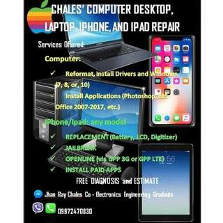Computer and Iphone Repair