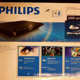 Philips blu-ray player