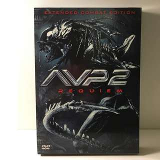 AVP2 Alien VS Predator 2: Requiem - Extended Combat Edition DVD