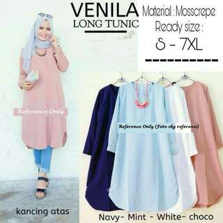[READY STOCK] Venila Tunic/Long Blouse