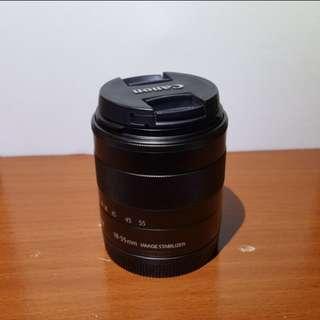 Canon EF-M 18-55MM LENS STM